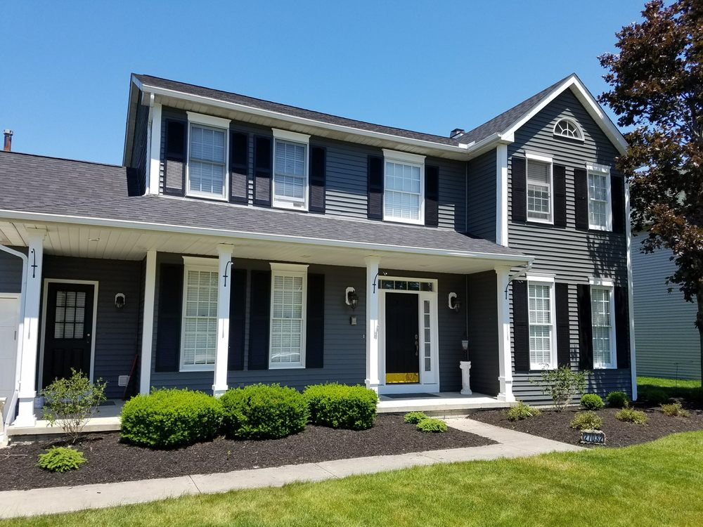 Exterior Vinyl House Painting in Cleveland Ohio