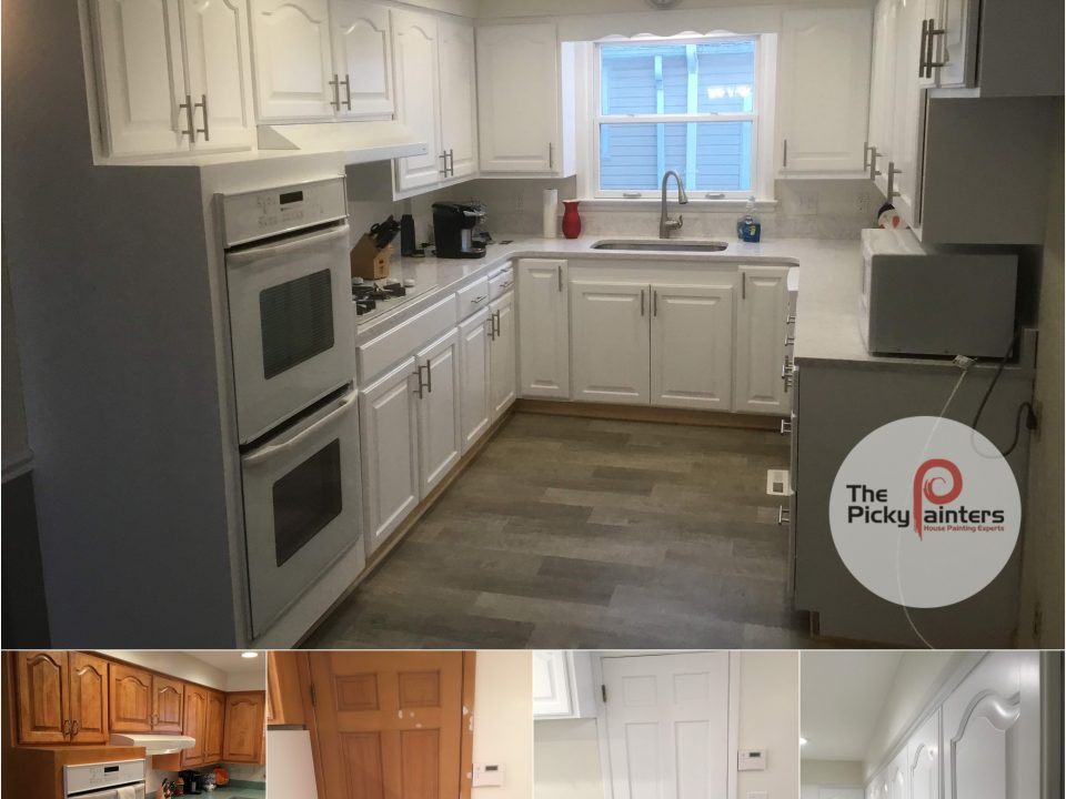 Cabinet Refinishing in Rocky River