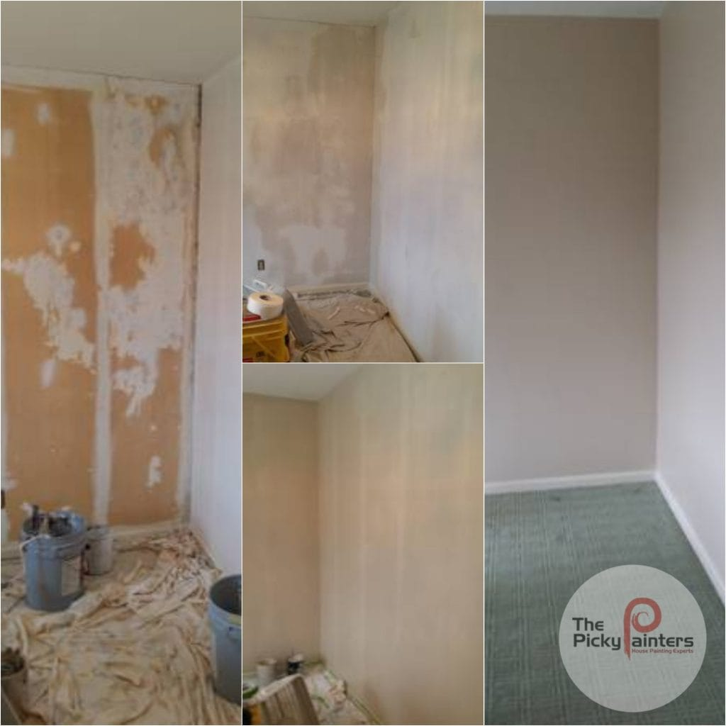 Interior Painting.Wallpaper Removal to Interior Painting in Broadview Heights Ohio 2