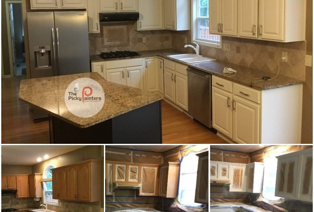 How Much Does Kitchen Cabinet Painting Cost The Picky Painters Berea Oh