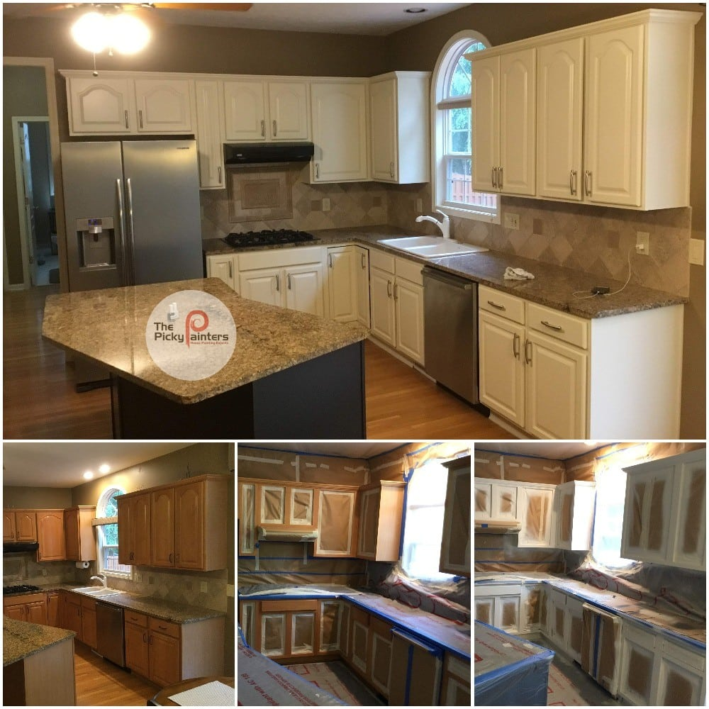 How much does kitchen cabinet painting cost? - The Picky ...