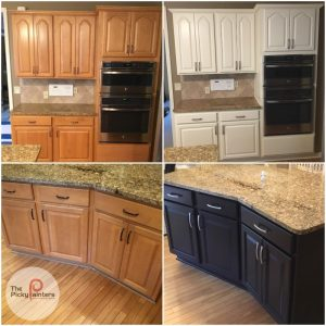 What Color Should I Paint My Kitchen Cabinets The Picky Painters Berea Oh