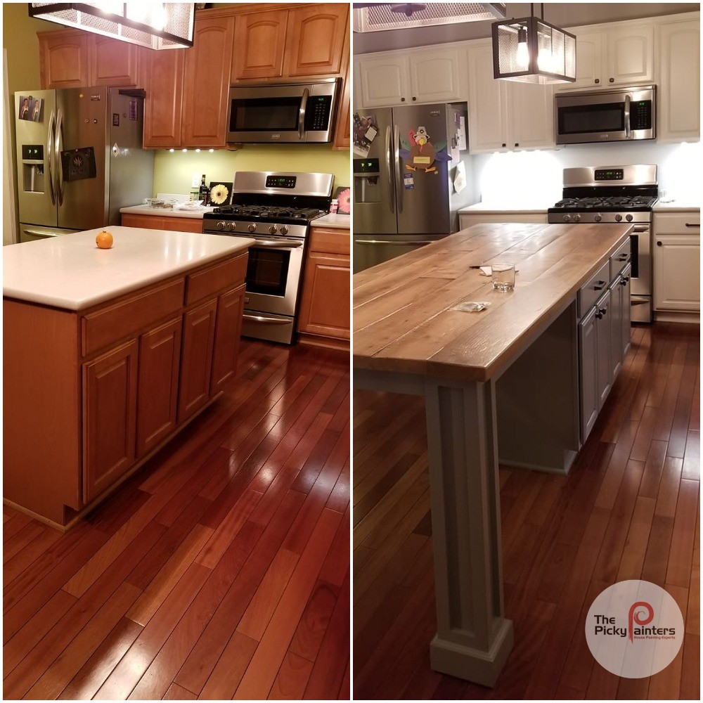 What is Making my Kitchen Cabinet Paint Peel? - The Picky ...
