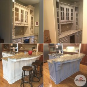 What Is Making My Kitchen Cabinet Paint Peel The Picky Painters Berea Oh