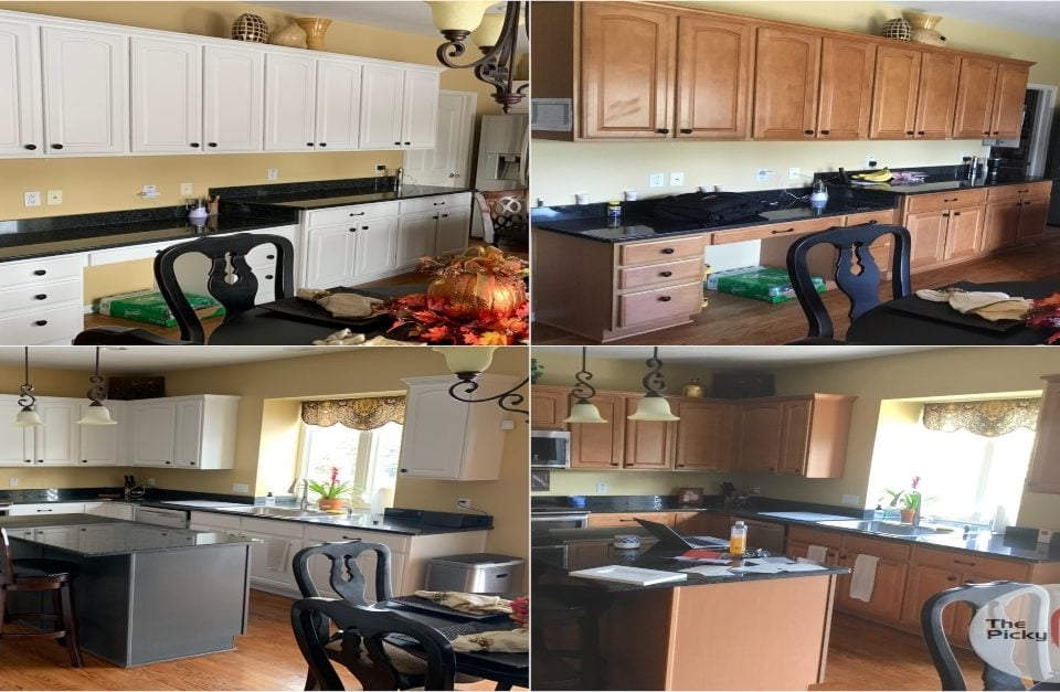 Kitchen Cabinet Painting near me in Avon Ohio